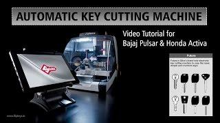 Download Automatic Key Cutting Machine in India (Silca Futura) Video