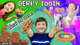 Download Mike's DERPY Stubborn Tooth / Rolled Up Ice Cream? / Backyard Fort Updates (FUNnel Vision Vlog) Video