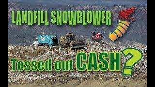 Download Trash Picked Honda Snowblower... Will it LIVE?? Video