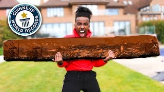 Download Melting 1000 Chocolate Bars into 1 GIANT Bar Video