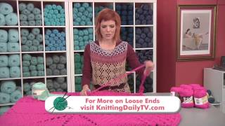 Download Crochet a Thrown Rug Inspired by a Doily, from Knitting Daily TV Episode 1409 with Vickie Howell Video