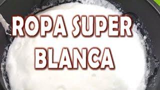 Download ROPA BLANCA Y RELUCIENTE CON ESTE DETERGENTE BLANQUEADOR EN GEL ESPUMOSO Video