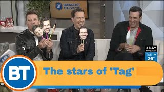 Download 'Tag's star-studded cast joins us Video