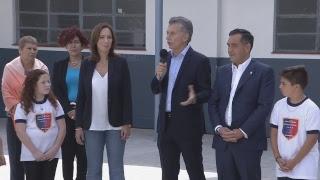 Download El presidente Mauricio Macri encabezó la presentación de resultados de la evaluación Aprender 2017 Video