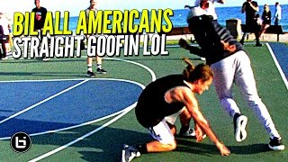 Download All American Players vs Clueless Randoms at The Beach!! Straight GOOFIN! Video