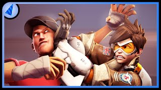 Download Overwatch vs. TF2 [SFM] Video