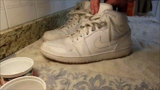 Download How to Clean Air Jordan 1's All White (READ DESCRIPTION) Video