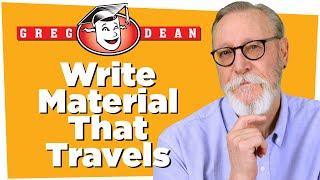 Download How to be a Stand Up Comedian: Stand-Up Comedy Material that Travels - Greg Dean Video