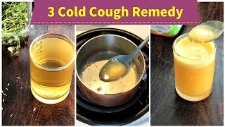 Download 3 Cold Cough REMEDY ( for 1+ toddlers, kids & adults ) Video
