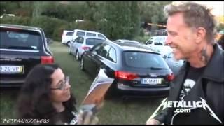 Download Metallica - Zip Line & Meet And Greet [Lisbon May 25, 2012] HD Video