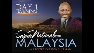 Download The Supernatural - Malaysia - Day 1 Evening - With Apostle Johnson Suleman Video