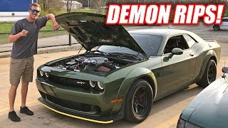 Download Cleetus Drives a Demon... Cleetus Approves With Large Burnout! Video