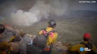 Download New videos show chaos around Yarnell Hill Fire deaths Video