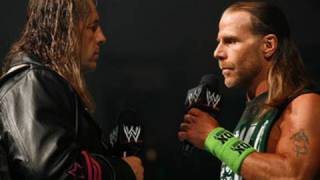 Download Raw: Bret Hart encounters Shawn Michaels for the first time Video