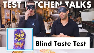Download Pro Chefs Blindly Taste Test Snacks | Test Kitchen Talks | Bon Appétit Video
