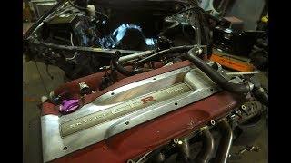 Download R34 SKYLINE GTR ENGINE PULL! Video
