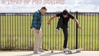 Download 10 Types of Pro Skateboarders Video
