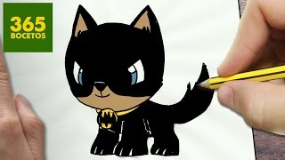 Download COMO DIBUJAR PERRO BATMAN KAWAII PASO A PASO - Dibujos kawaii faciles - How to draw a BATMAN DOG Video