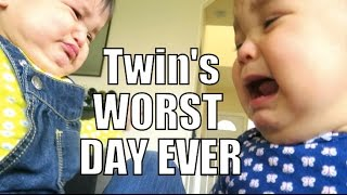 Download Twin's Worst Day Ever :( - April 12, 2015 - ItsJudysLife Vlogs Video