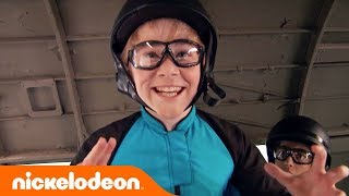 Download Nicky, Ricky Dicky & Dawn Emotional Finale 😭 Lizzy Greene & Squad Sky Dive | Nick Video