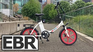 Download Ness Icon Video Review - $1.4k Easy-Mount Wave Style Folding Electric Bike Video