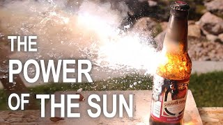 Download Burning Stuff With 2000ºF Solar Power!! Video