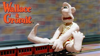 Download The Wrong Trousers - Train Chase - Wallace and Gromit Video