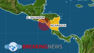 Download Magnitude 7 Offshore Quake Shakes Central America as Hurricane Hits Video