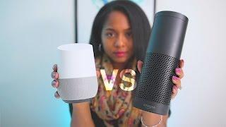 Download SHOWDOWN: Google Home VS Amazon Echo! Video