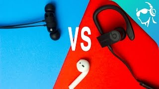Download BeatsX vs Powerbeats3 vs Airpods - Which are best for you? Video
