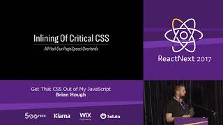Download Brian Hough: Get That CSS Out Of My JavaScript — ReactNext 2017 Video