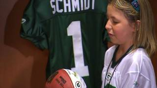 Download My Wish: The Green Bay Packers Add Anna to the Team Video