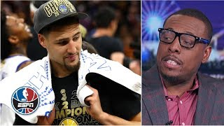 Download Paul Pierce says he was a better wing shooter than Klay Thompson | NBA Countdown Video