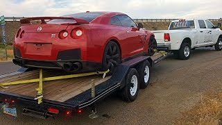 Download Totaled Nissan GT-R Rebuild - Part 1 Video