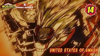 Download #ヒロアカアニメ名シーン:第14弾「UNITED STATES OF SMASH」(『僕のヒーローアカデミア』第49話より) Video