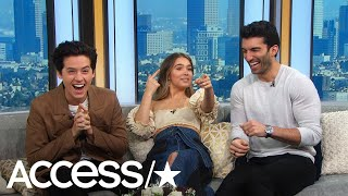Download Cole Sprouse & Haley Lu Richardson's Reaction To Justin Baldoni's Proposal Video Is Everything! Video