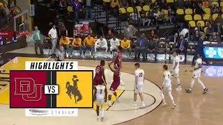 Download Denver vs. Wyoming Basketball Highlights (2018-19) | Stadium Video
