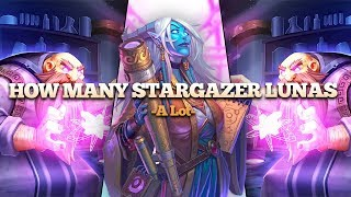 Download How Many Stargazer Lunas Can We Play in 1 Game?? Video