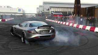 Download Mercedes Benz SLR McLaren Drift Racing Video