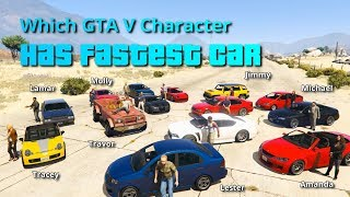 Download Which GTA V character/NPC has fastest car. Video