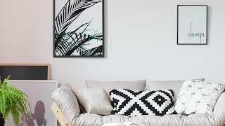 Download Here's How You Can Hang BIG Wall Art Without a Single Nail or Hammer Video