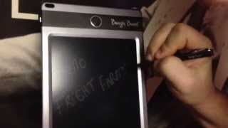 Download LCD eWriter DEMO iMPROV Boogie Board JOT 8 5 Video