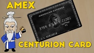 Download What is the Amex Centurion Card? And How to Get it! Video