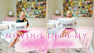 Download COLLEGE MOVE IN VLOG | MOVING INTO MY SORORITY HOUSE | University of Alabama Pi Beta Phi Video