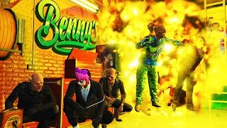 Download GTA 5 EXTREME PIGGY HUNT - HOW MANY CAN YOU KILL? (GTA 5 FUNNY MOMENTS) Video