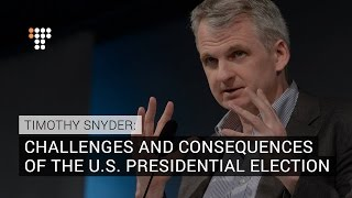 Download Timothy Snyder On Historic U.S. Presidential Election: Exclusive Interview Video