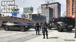 Download GTA 5 LSPDFR 0.3.1 - EPiSODE 312 - LET'S BE COPS - SWAT PATROL (GTA 5 PC POLICE MODS) Video