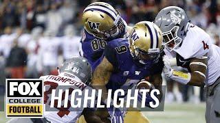 Download Washington vs Washington State   Highlights   FOX COLLEGE FOOTBALL Video