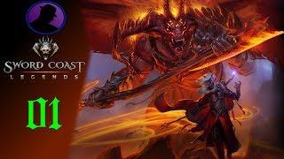 Download Let's Play Sword Coast Legends - Ep. 1 - The Journey Begins! Video