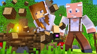 Download Minecraft: TÚNEL DA SORTE - JOGANDO COM MEU VÔ! Video